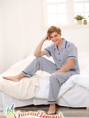 MHW001 Man Classic Pyjamas Home Wear cum Sleepwear 02