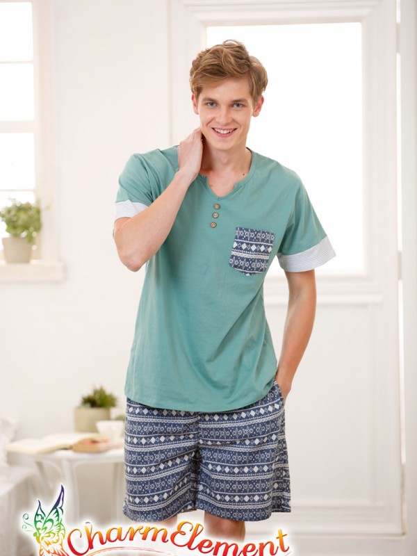 MHW003 Man Sea Cool Home Wear Set 01
