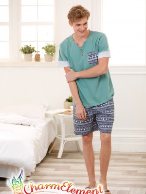 MHW003 Man Sea Cool Home Wear Set 02