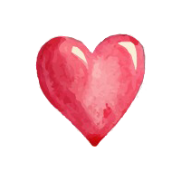 Charm Element Heart for Love and Compassion